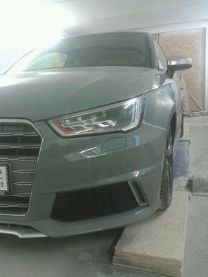 Mücke Audi A1 verbreiterte Kotflügel 3cm pro Seite