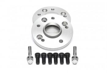 TA Technix Lochkreisadapterset 15mm pro Seite/30mm pro Achse/4x100 auf 5x100