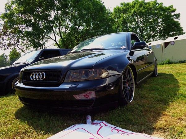 Mücke Audi A4B5 FL verbreiterte Kotflügel 3 cm pro Seite