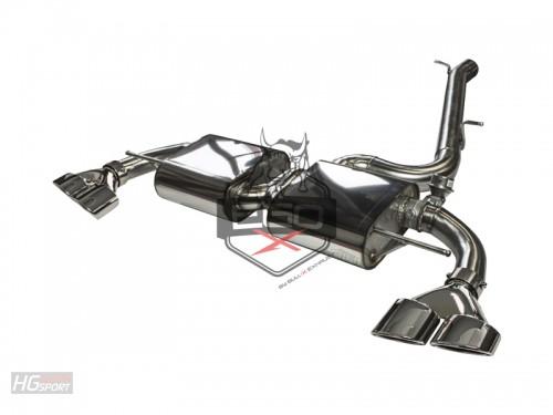 EGO-X Abgasanlage ab Kat für Audi TTS 8J Modelle