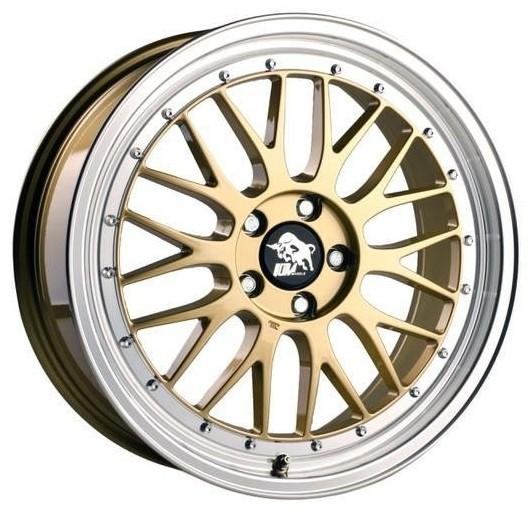 Ultra Wheels UA3 LM 8,5x19 gold m. poliertem Bett 5 x112 ET30