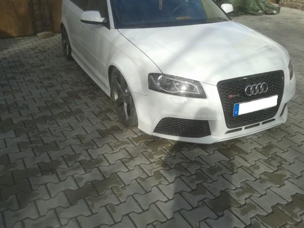 Mücke Audi RS3 8P verbreiterte Kotflügel