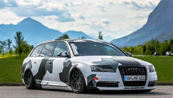 Mücke Audi A6 4 F Kotflügel GFK