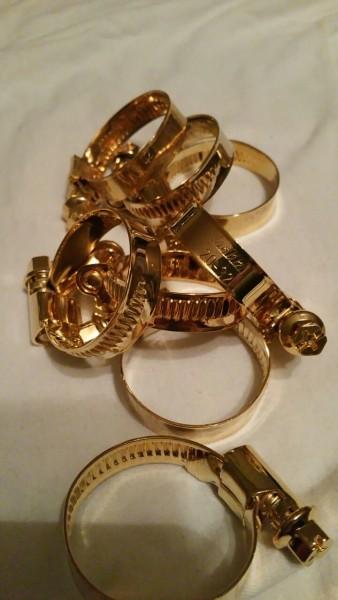 Tuning Hoppe Schlauchschelle Gold 20 - 32 mm