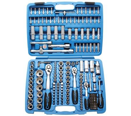 BGS Werkzeugkoffer Steckschlüsselsatz 1/4 3/8 1/2 192-tlg bei tuning-hoppe.com