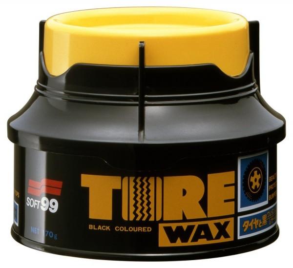 SOFT99 Tire Black Wax Reifenwachs Reifenpflege Reifenglanz 170 g