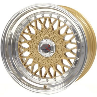 RS01 Gold Hornpoliert Lochkreis 4 x 100 bei tuning-hoppe.de