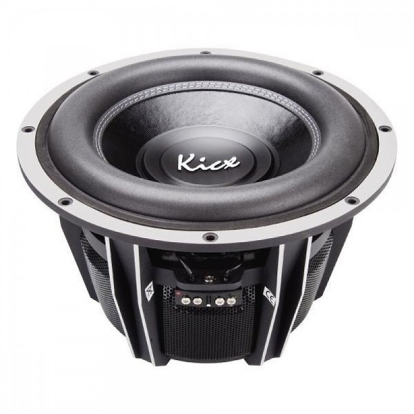 Kicx QS300 30 cm 600W RMS / 1200W MAX Lowbass Subwoofer 2x4 Ohm Bass Boosted