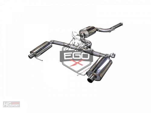 EGO-X Abgasanlage ab Kat für Seat Leon 5F ST Cupra 280