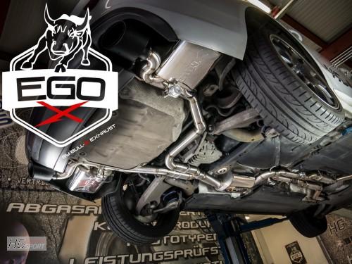 EGO-X Abgasanlage ab Kat für Audi S4/S5 3,0 TFSI Modelle
