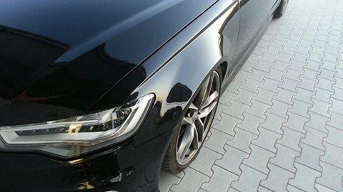 Mücke Audi A6 4G verbreiterte Kotflügel 3 cm pro Seite