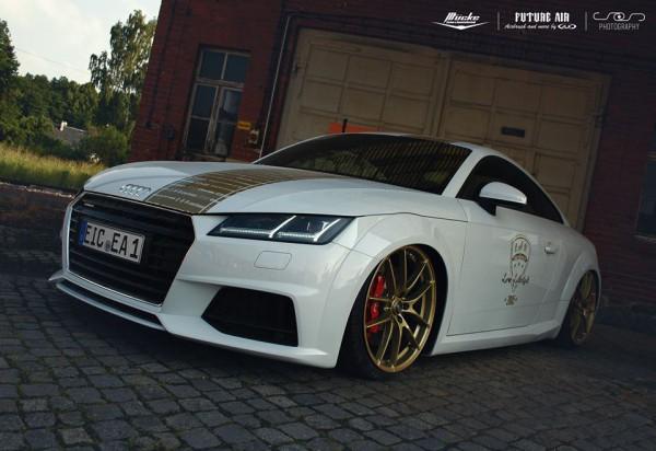 Mücke Audi TT 8S verbreiterte Kotflügel 3 cm pro Seite